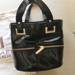 Michael Kors Patent Leather Tote Black